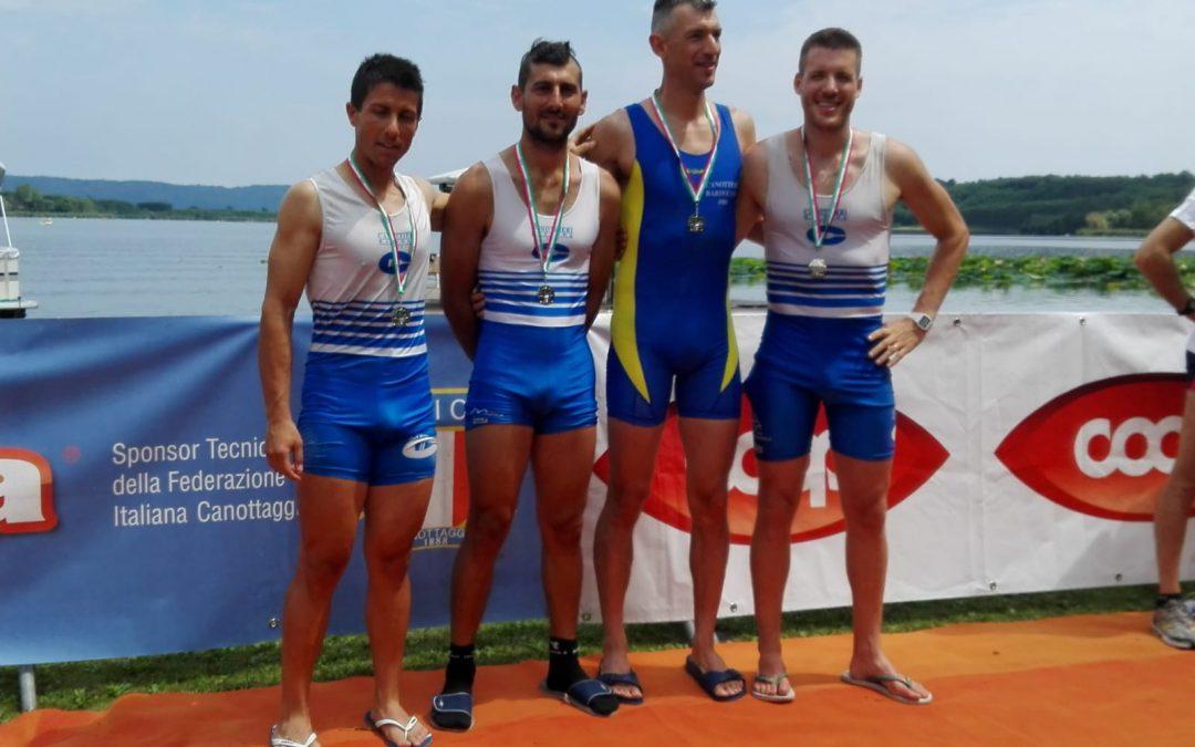 Campionati Italiani Master: un argento e un oro per la Canottieri Ravenna