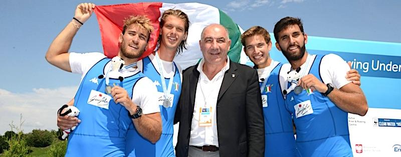 Gergo Cziraki di Canottieri Ravenna conquista l'argento ai Mondiali Under 23