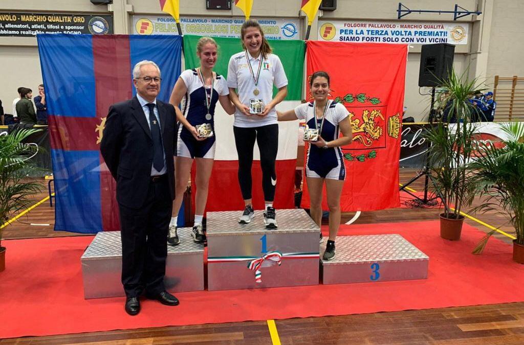 Elisa Ortolani vince il titolo italiano indoor